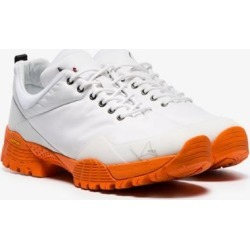 Roa white Oblique contrast sole low top leather sneakers found on Bargain Bro UK from Browns Fashion for $163.68