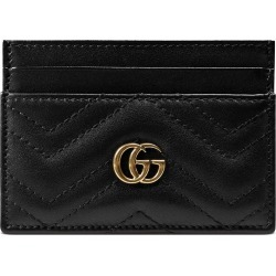 3f39cb8d308d Gucci GG Marmont card case - Black found on MODAPINS from FarFetch.com - US
