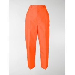 Prada fluorescent cropped trousers found on Bargain Bro India from stefania mode for $356.00