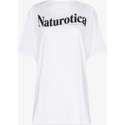 Christopher Kane Womens White Naturotica Print T-shirt found on MODAPINS from Browns Fashion for USD $254.38