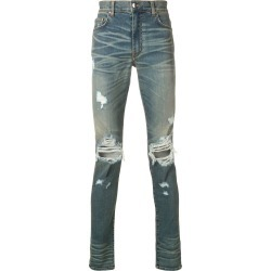 Amiri ripped skinny jeans - Blue found on MODAPINS from FARFETCH.COM Australia for USD $802.75