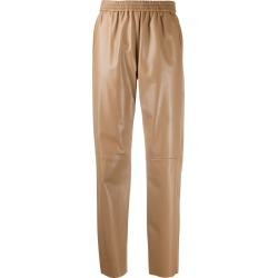 Drome tapered leather trousers found on MODAPINS from Eraldo for USD $954.53