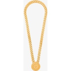 Versace Mens Gold Tone Medallion Chain Necklace found on Bargain Bro UK from Browns Fashion