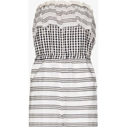 Lemlem Womens White Tigist Striped Cotton Playsuit found on MODAPINS from Browns Fashion for USD $370.16
