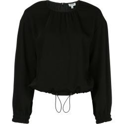 Kenzo drawstring hem blouse - Black found on Bargain Bro Philippines from FARFETCH.COM Australia for $427.57