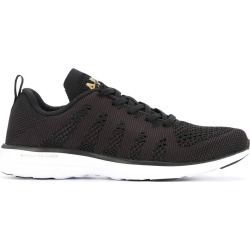 Apl TechLoom lace-up sneakers - Black found on MODAPINS from FARFETCH.COM Australia for USD $138.14