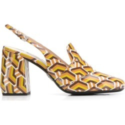 Prada chevron print pumps - Brown found on Bargain Bro India from FARFETCH.COM Australia for $939.07