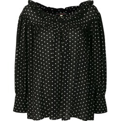 Alexa Chung polka dotted loose blouse - Black found on MODAPINS from FarFetch.com - US for USD $193.00
