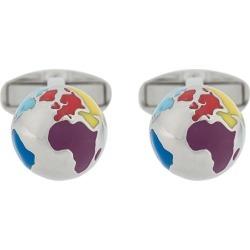 Paul Smith Globe cufflinks - SILVER found on Bargain Bro India from FARFETCH.COM Australia for $109.67