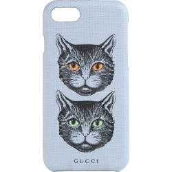 Gucci Mystic Cat iPhone 8 Case - Purple