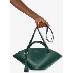 Jil Sander Womens Green Sombrero Small Leather Tote Bag found on Bargain Bro UK from Browns Fashion