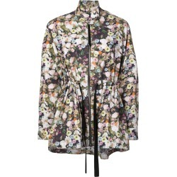 Adam Lippes floral print parka - Multicolour found on MODAPINS from FarFetch.com- UK for USD $718.48