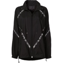 Alexander Wang eyelet details jacket - Black found on MODAPINS from FarFetch.com - US for USD $2207.00