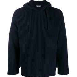 Valentino ribbed hoodie - Blue found on Bargain Bro UK from FarFetch.com- UK