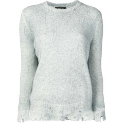Avant Toi distressed brushed sweater - Grey found on MODAPINS from FARFETCH.COM Australia for USD $400.94