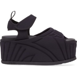 Fendi quilted flatform sandals - Black found on Bargain Bro India from FARFETCH.COM Australia for $993.90