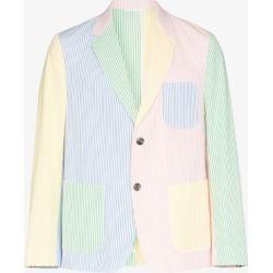 Thom Browne Mens Pink Tb Uncntst Ptch Pkt Blzr Jkt Multi found on Bargain Bro UK from Browns Fashion