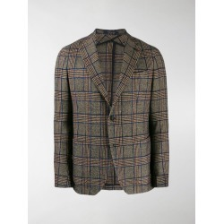Tagliatore single-breasted tartan blazer found on Bargain Bro UK from MODES GLOBAL