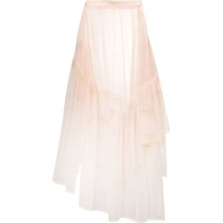 Barbara Bologna sheer tulle skirt - Neutrals found on MODAPINS from FarFetch.com - US for USD $293.00