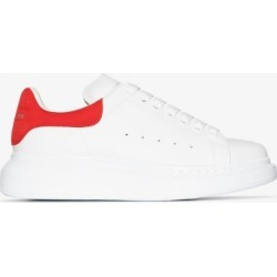 Alexander Mcqueen Womens White And Red Oversized Sneakers found on Bargain Bro UK from Browns Fashion