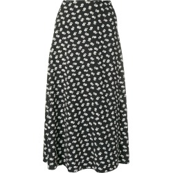 Alexa Chung floral midi skirt - Black found on MODAPINS from FarFetch.com- UK for USD $428.53