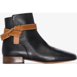 Loewe Womens Black Gate 25mm Ankle Boots found on Bargain Bro UK from Browns Fashion
