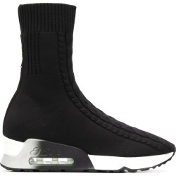 Ash ankle high sock sneakers - Black found on MODAPINS from FarFetch.com - US for USD $225.00