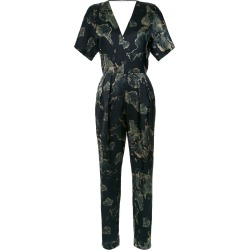 Andrea Marques V-back printed jumpsuit - Black found on MODAPINS from FARFETCH.COM Australia for USD $528.86