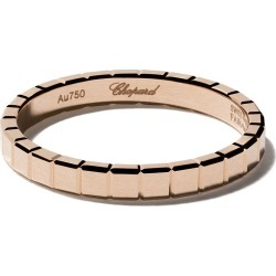 Chopard 18kt rose gold Ice Cube Pure ring - Fairmined Rose Gold found on Bargain Bro India from FarFetch.com - US for $825.00