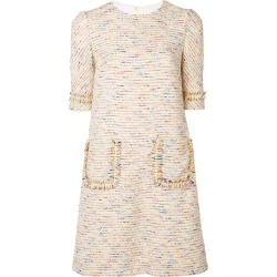Talbot Runhof tween shift dress - Yellow found on Bargain Bro UK from FarFetch.com- UK