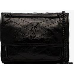 Saint Laurent Womens Black Niki Chain Strap Bag found on Bargain Bro UK from Browns Fashion
