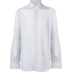 Barba plain button-down shirt - Blue found on MODAPINS from FarFetch.com- UK for USD $199.82