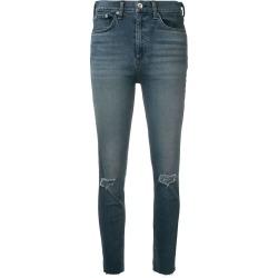 Rag & Bone distressed skinny jeans - Blue found on MODAPINS from FARFETCH.COM Australia for USD $255.35