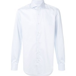 Barba classic button shirt - Blue found on MODAPINS from FARFETCH.COM Australia for USD $154.17