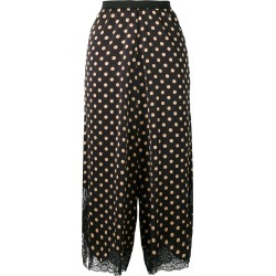 Antonio Marras cropped polka dot palazzo pants - Black found on MODAPINS from FarFetch.com - US for USD $793.00