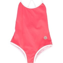 Moncler Kids one piece swimsuit - Pink