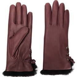 Agnelle Aliette gloves - Red found on MODAPINS from FARFETCH.COM Australia for USD $140.98