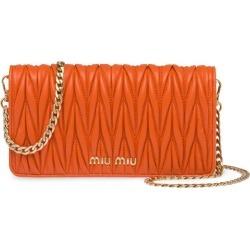 Miu Miu matelassé mini bag - Orange found on Bargain Bro India from FarFetch.com - US for $895.00