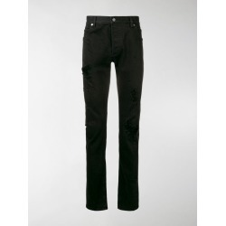 Balmain distressed slim jeans found on Bargain Bro India from stefania mode for $984.94