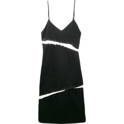 Beau Souci cutout safety pin slip dress - Black found on MODAPINS from FarFetch.com - US for USD $918.00