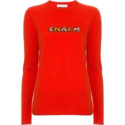 Bella Freud Charm print sweater - Red found on MODAPINS from FarFetch.com- UK for USD $412.91