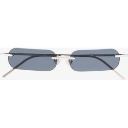 Blyszak silver and blue black Francois Russo sunglasses found on Bargain Bro UK from Browns Fashion