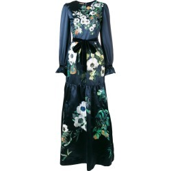 Alice Archer gathered Honey dress - Blue found on MODAPINS from FarFetch.com - US for USD $1960.00
