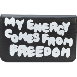 Comme Des Garçons Wallet slogan wallet - Black found on MODAPINS from FarFetch.com- UK for USD $591.99