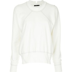 Bassike classic long-sleeve sweatshirt - White found on MODAPINS from FarFetch.com - US for USD $280.00