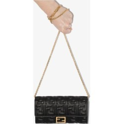 Fendi Womens Black Baguette Continental Wallet found on Bargain Bro UK from Browns Fashion