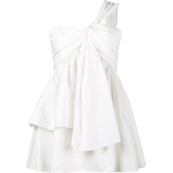 Adeam One Shoulder Knotted Bustier Top - White found on MODAPINS from FarFetch.com - US for USD $309.00