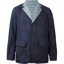 Moncler - reversible padded jacket - men - Feather Down/Polyamide - 3, Blue/Blue