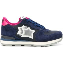 Atlantic Stars star embroidered sneakers - Blue found on MODAPINS from FarFetch.com- UK for USD $193.01