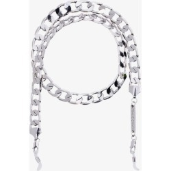 Frame Chain Womens Metallic White Gold-plated Eyefash Chain found on Bargain Bro UK from Browns Fashion
